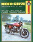 Moto-Guzzi 750, 850 and 1000 V-Twins Owners Workshop Manual, No. M339:  '74-'78 (Owners' Workshop Manual) Cover Image