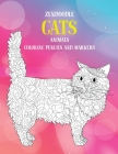 Zendoodle Coloring Pencils and Markers - Animals - Cats Cover Image