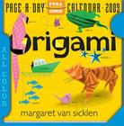Origami Page-A-Day Calendar 2009 Cover Image