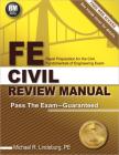 FE Civil Review Manual Cover Image