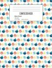 Composition Book: Seashell Composition Notebook Wide Ruled 7.5 x 9.7 in, 120 pages book for girls, school kids, students and teachers Cover Image