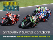 Motocourse 2021 Grand Prix & Superbike Calendar: Full Colour Action from Grand Prix and World Superbike Racing Cover Image