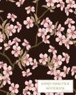 Kanji Practice Notebook-Cherry Blossoms: Genkouyoushi Notebook/Paper/Workbook/ Book, Japanese Writing Practice Book & Notetaking of Kana and Kanji Cha Cover Image