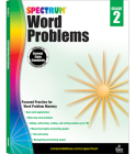 Word Problems, Grade 2 (Spectrum) Cover Image