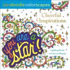 Zendoodle Colorscapes: Cheerful Inspirations: Uplifting Words to Color and Display Cover Image