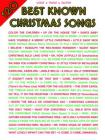 120 Best Known Christmas Songs: Piano/Vocal/Guitar Cover Image