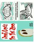 Jodi Goes to the Zoo - Educational Rhyming Verse, Colouring and Joke Book Cover Image