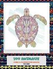 Livres à colorier pour adultes - Pas cher - 100 animaux Cover Image