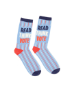 Read Think Vote Socks Large Cover Image
