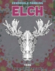 Zendoodle Färbung - Erhebende Inspirationen - Tiere - Elch Cover Image