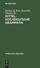 Mittelhochdeutsche Grammatik Cover Image