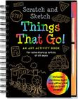 Scratch & Sketch Things That Go (Trace-Along) Cover Image
