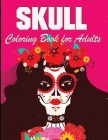 Skull Coloring Book: For Adults 100 Pages Cover Image