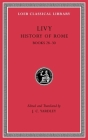History of Rome (Loeb Classical Library #381) Cover Image