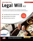 Legal Will Kit: Wills Made Easy Cover Image