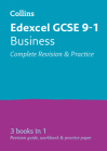 Collins GCSE Revision and Practice: New Curriculum – Edexcel Business All-in-One Revision and Practice Cover Image