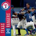 Texas Rangers 2021 12x12 Team Wall Calendar Cover Image