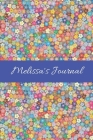 Melissa's Journal: Cute Personalized Name College-Ruled Notebook for Girls & Women - Blank Lined Gift Journal/Diary for Writing & Note Ta Cover Image
