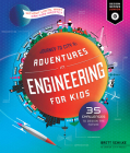 Adventures in Engineering for Kids: 35 Challenges to Design the Future - Journey to City X - Without Limits, What Can Kids Create? (Design Genius Jr.) Cover Image