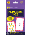 Numbers 1 to 26 Flash Cards, Grades Pk - 1 (Brighter Child Flash Cards) Cover Image