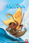 Disney Moana: The Story of the Movie in Comics Cover Image