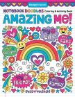 Notebook Doodles Amazing Me: Coloring & Activity Book Cover Image