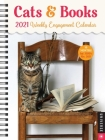 Cats & Books 16-Month 2020-2021 Weekly Engagement Calendar Cover Image