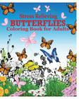 Butterflies Coloring Book for Adults Cover Image
