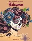 Livre de coloriage pour enfants Calaveras Cover Image