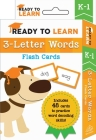 Ready to Learn: K–1 3-Letter Words: Flash Cards Cover Image