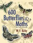 600 Butterflies & Moths in Full Color (Dover Pictorial Archive) Cover Image