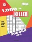 1,000 + Mega sudoku killer 8x8: Logic puzzles hard levels Cover Image