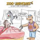 Zoo University: An Adult Comic Coloring Book Cover Image