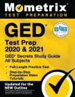 GED Test Prep 2020 and 2021 - GED Secrets Study Guide All Subjects, Full-Length Practice Test, Step-By-Step Preparation Video Tutorials: [updated for Cover Image