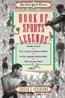 New York Times Book of Sports Legends Cover Image