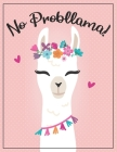 Cornell Notes Notebook: An 8.5 x 11 llama cornell notes notepad, cornell notes pad, cornell notes book, note taking notebook, college student Cover Image