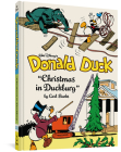Walt Disney's Donald Duck: Christmas in Duckburg (Vol. 21): Complete Carl Barks Disney Library (Carl Barks Library #21) Cover Image