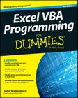 Excel VBA Programming for Dummies Cover Image