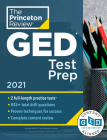 Princeton Review GED Test Prep, 2021: Practice Tests + Review & Techniques + Online Features (College Test Preparation) Cover Image