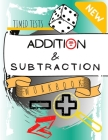 Timed Tests Addition & Subtraction Workbook: Practice Activity Book For Students - Digits 0 - 20 -Problem Solving - For 1st & 2nd & 3rd Graders - Enha Cover Image