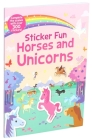 Sticker Fun Horses and Unicorns Cover Image