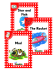 Jolly Phonics Readers, Complete Set Level 1: In Print Letters (American English Edition) Cover Image