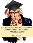 PTE Academic Preparation Book: Pearson Test of English Practice Exams in Speaking, Writing, Reading, and Listening with Free mp3s, Sample Essays, and Cover Image