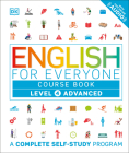 English for Everyone: Level 4: Advanced, Course Book: A Complete Self-Study Program Cover Image