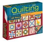 Quilting Block and Pattern-a-Day 2020 Calendar Cover Image