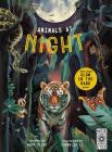 Glow in the Dark: Animals at Night: with a huge Glow in the Dark poster Cover Image