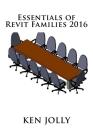 Essentials of Revit Families 2016 Cover Image
