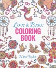 Love & Peace Coloring Book Cover Image