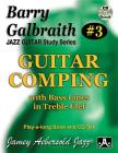 Barry Galbraith Jazz Guitar Study 3 -- Guitar Comping: With Bass Lines in Treble Clef, Book & CD Cover Image