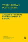 Assessing Political Representation in Europe (West European Politics) Cover Image